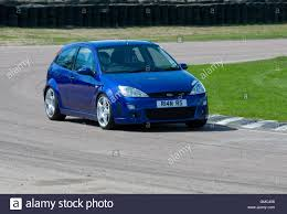 high performance ford focus ford focus rs mk1 high performance hatch car on a race track