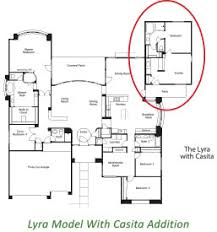 mother in law suite addition plans classic stellar homes lyra model with casita makeover