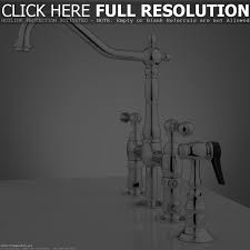 rohl bridge kitchen faucet faucets ideas
