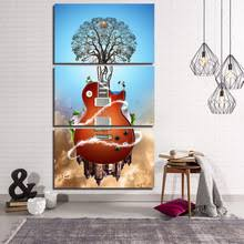 Guitar Home Decor Abstract Guitar Paintings Promotion Shop For Promotional Abstract