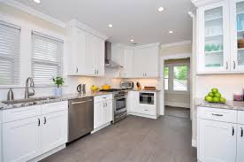 wonderful white kitchen cabinets with granite countertops design