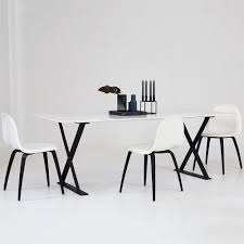 Black White Dining Chairs Dining Table With Black Legs Dining Room Ideas