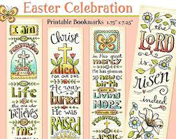 printable easter bookmarks to colour view printable bookmarks by karladornacher on etsy