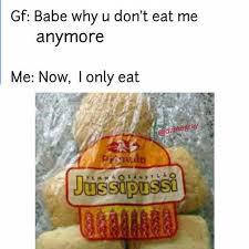 Eat Me Meme - dopl3r com memes gf babe why u dont eat me anymore me now i