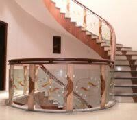 stair railing installation outdoor railings ideas handrail home