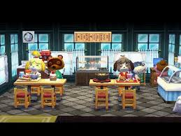 Home Desinger Animal Crossing Happy Home Designer Decorating The Restaurant