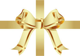 christmas ribbons and bows gold bow ribbon free stock photo domain pictures