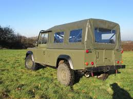 land rover jeep defender for sale military vehicle 1985 land rover defender exmoor offroad for sale