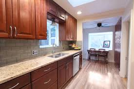 what backsplash looks with cherry cabinets tile backsplash and cherry cabinet houzz
