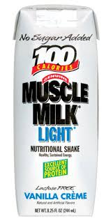 100 calorie muscle milk light vanilla crème amazon com cytosport diet muscle milk vanilla 24 11 oz pouches
