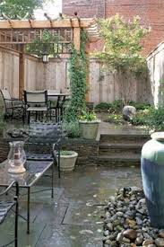 nice small back yard u2026no grass to cut landscape outdoor living