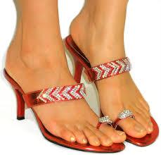 Rhinestone Sandal Heels Dazzling Rhinestone Toe Ring Sandals Sparkle Slide On Heels