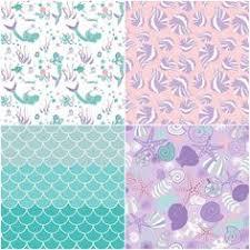 Seashell Crib Bedding This Purple And Mint Mermaid Crib Bedding This Custom Baby