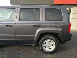 silver jeep patriot black rims used 2015 jeep patriot sport in lansing