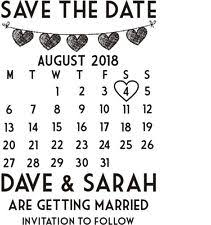 Save The Date Stamps Save The Date Stamp Ebay