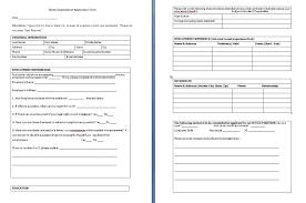 job application form in word format choice image form example ideas