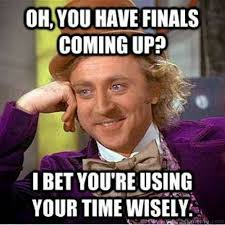 College Finals Meme - the simple life welcome to finals week and how to survive it