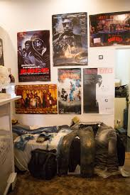 Bedroom Wall Covered In Posters Inside Jay Z U0027s Apt 4b Pop Up Shop And 20th Anniversary Of