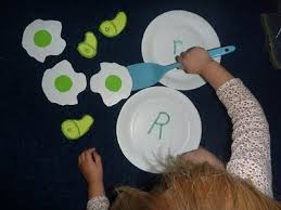 green eggs and ham preschool activity instead of matching a