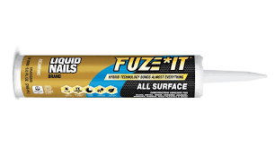liquid nails brand launches fuze it all surface construction
