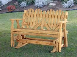 amish porch glider bench 6387chairs amp table chairs amp table