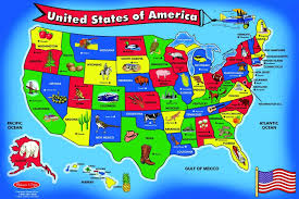 wooden usa map puzzle with states and capitals amazoncom doug usa map wooden puzzle 45 pcs pj
