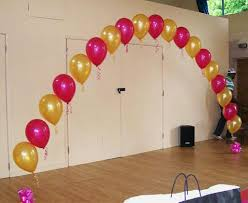 how to make a balloon arch balloons simple arch picture party decorations