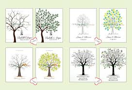 wedding tree 2018 canvas printing fingerprint wedding tree thumbprint wedding