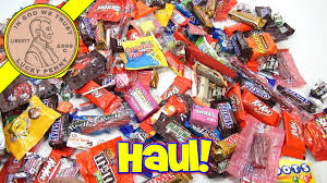 halloween 2015 candy haul trick or treat youtube