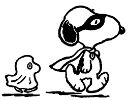 Snoopy Flags Halloween Snoopy Coloring Page Wecoloringpage