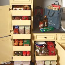 kitchen cupboard with drawers 7 best pull out cabinet organizers you can diy family handyman