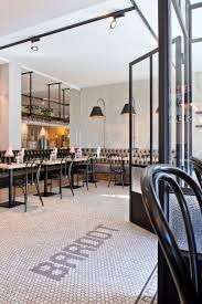 brasserie bardot restaurant love the tufted seating and floor