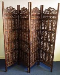 sheesham wood wooden screen partition kashmiri 72x80 4 antique holy land carved wooden room by phins81