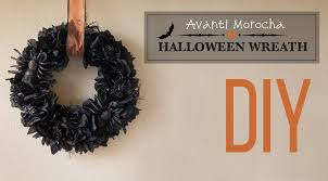 diy halloween wreath corona de halloween youtube
