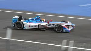 formula 3000 what are the weirdly quiet noises that come from a formula e car