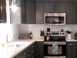 Popular Kitchens With White Glass Tile Backsplash My Home Design - White glass tile backsplash