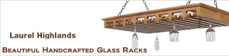 glass racks