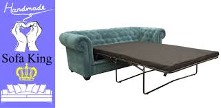 Chesterfield Sofa Modern by Chesterfield Sofa Bed 2 Seater Blue Fabric