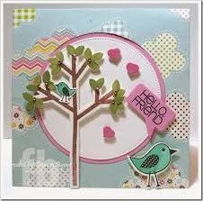 13 best sizzix birds and tree st die set images on