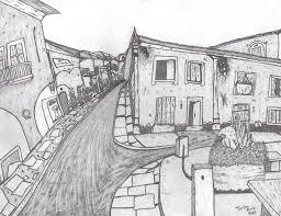 old city street sketch by jordan0012 on deviantart