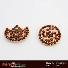 bharatanatyam hair accessories accessories sun and moon chanran sooriyan bharatanatyam