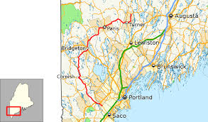 Map Of Maine Towns Maine State Route 117 Wikipedia