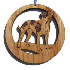 4 inch american bulldog ornament my cozy pet