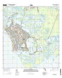 florida topo map marco island topo map in collier county florida