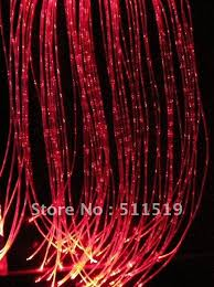fiber optic light strands special toys sensory fiber optic kit with 60pcs sparkle fiber optic