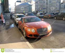 bentley car bentley car on a moscow street editorial photography image 66445542