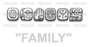family mayan glyphs tattoo design g u20aa aztec tattoos u20aa aztec