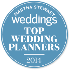 top wedding planners honored to be named one of martha stewart s top wedding planners