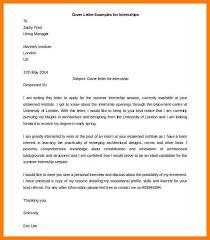 cover letter internship opening 9 cover letter format word memo heading