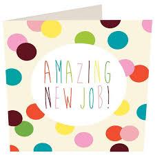 Congrats On New Job Card Caroline Gardner Amazing New Job Card From Ocado